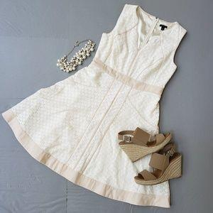 Ann Taylor Eyelet Dress